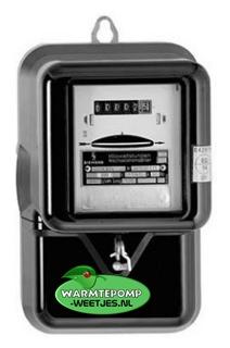 kwh meter warmtepomp
