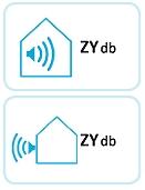 label voor geluid bij warmtepomp