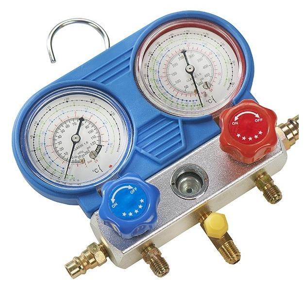 koudemiddel circuit drukmeterset