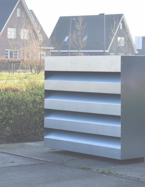 geluiddempende omkasting warmtepomp