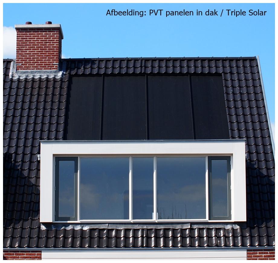 pvt panelen als bron voor een warmtepomp triple solar