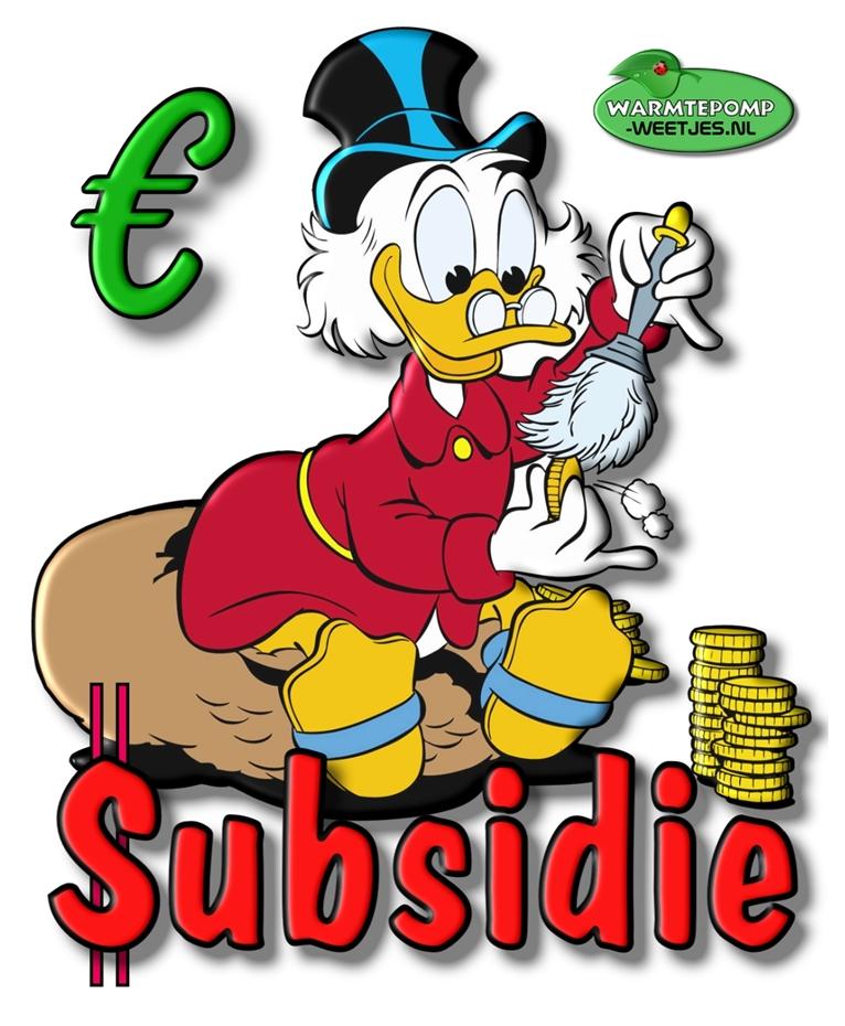 subsidie voor warmtepompen