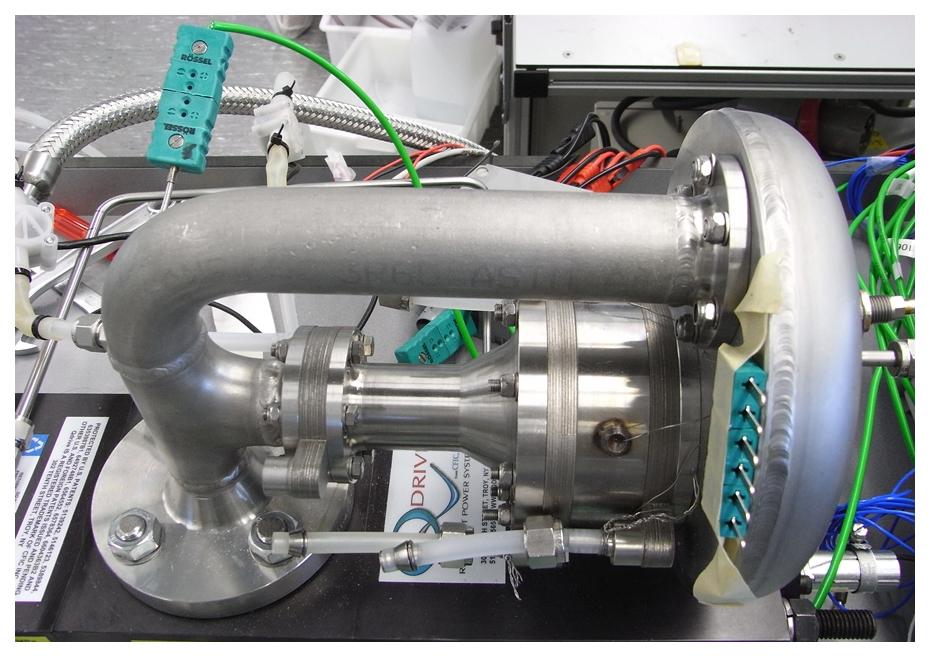 Thermo-akoestische warmtepomp testmodel