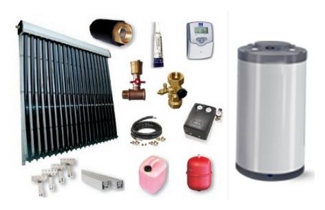 Buiscollector heatpipe pakket
