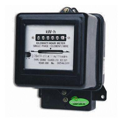 oude elektra meter