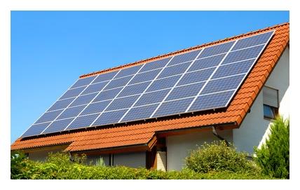 PV zonnestroom panelen